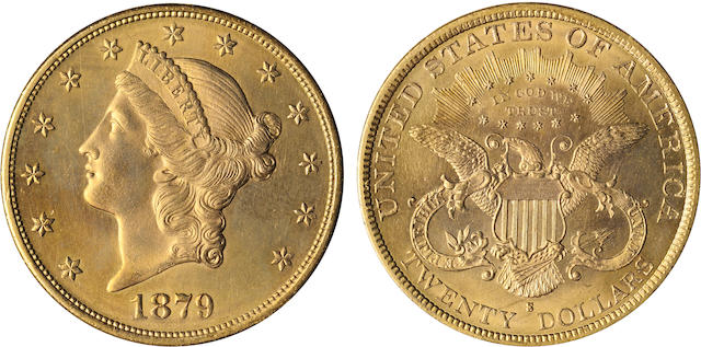 1879-S $20