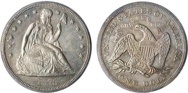 1873 $1 Proof