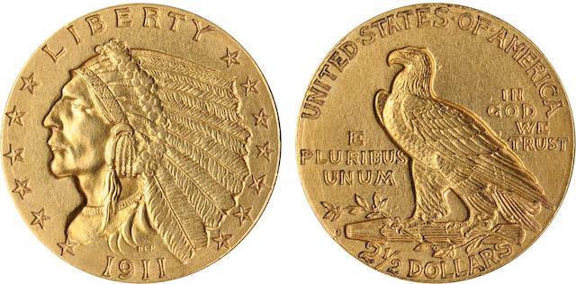 1911-D Strong D $2.5