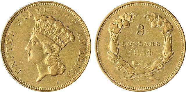 1854-O $3