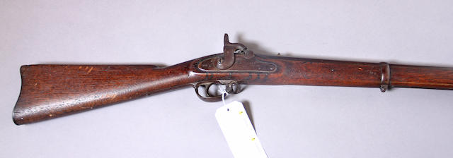 A U.S. Special Model 1861 contract percussion rifle-musket by Lamson, Goodnow and Yale