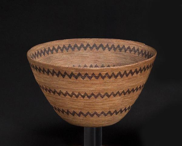 A Western Mono basket