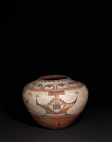 A Zia polychrome storage jar
