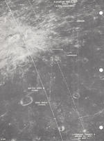 "LUNAR LANDMARK PHOTO TARGET TRAINING MAPS. FOR FLIGHT USE AND SUPPORT CREW TRAINING .<BR /> ""Landmark target 1, 2, and 3.  January 31, 1971.  ED. MSC-1."""