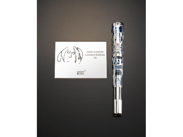 MONTBLANC: John Lennon Limited Edition 70 Fountain Pen **Note: photo with box**