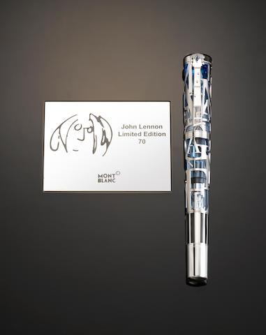 MONTBLANC: John Lennon Limited Edition 70 Skeleton Fountain Pen
