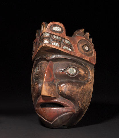 A Nootka mask