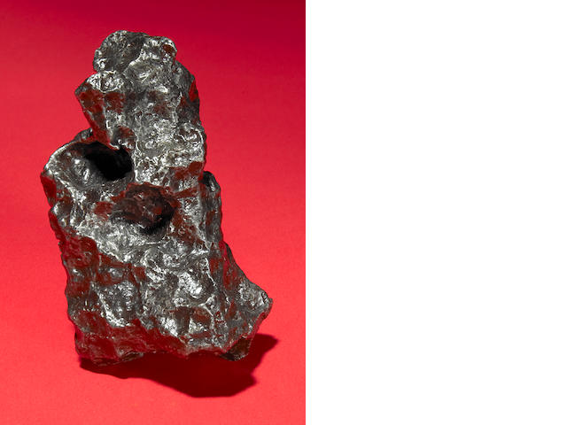 460 gms Campo Meteorite on Magnetic Stand