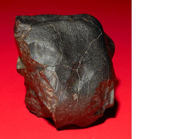 Huge stony meteorite 6 lbs.