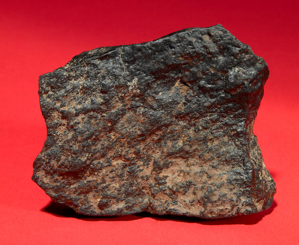 Carbonaceous meteorite (whole) 257 gm.