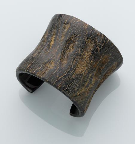 Water Buffalo Horn Cuff Bracelet