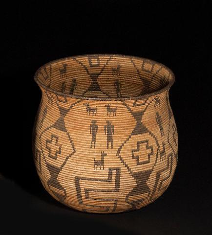 An Apache pictorial olla