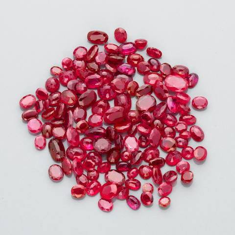 Miscellaneous Group of Rubies