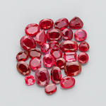 Miscellaneous Group of Medium-sized Rubies