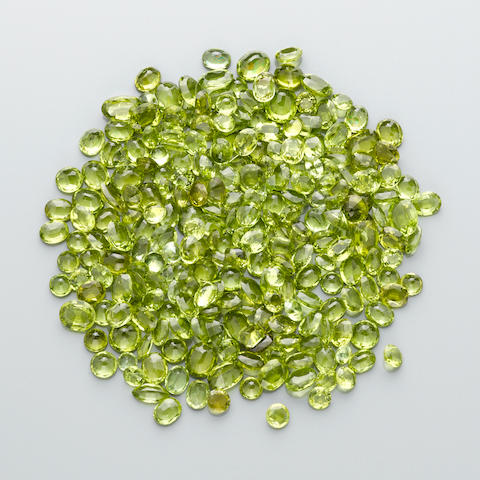 Large Miscellaneous Group of Peridots