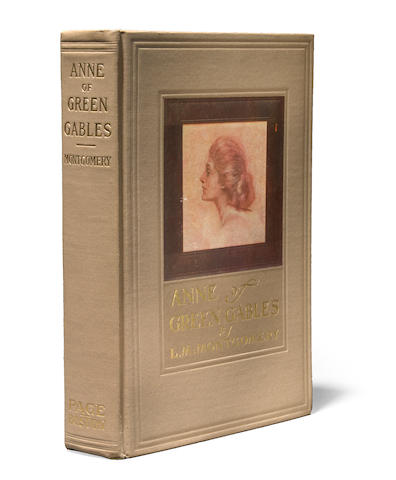 MONTGOMERY, L.M. Anne of Green Gables. Boston: L.C. Page, 1908. First edition, tan cloth.