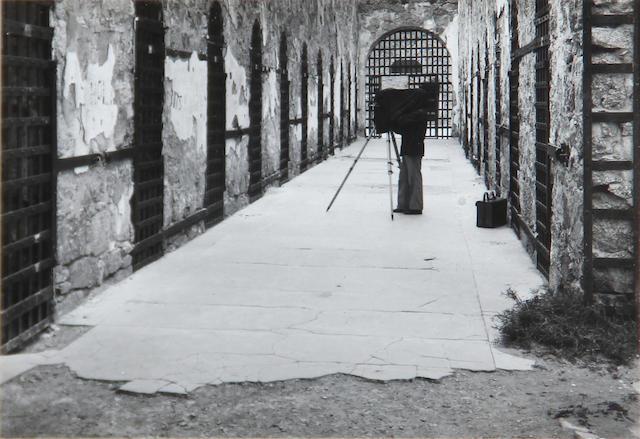 Max Yavno (American, 1911-1985); Aaron Siskind, Old Yuma Jail;