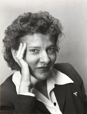 Edward Weston (American, 1886-1958); Portrait of a Woman (Mina Cooper?);