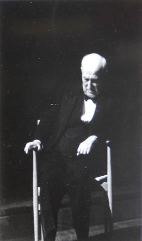 Dorothea Lange (American, 1895-1965); Jonathan Elkus; Portrait of Albert Elkus, Composer ; (2)