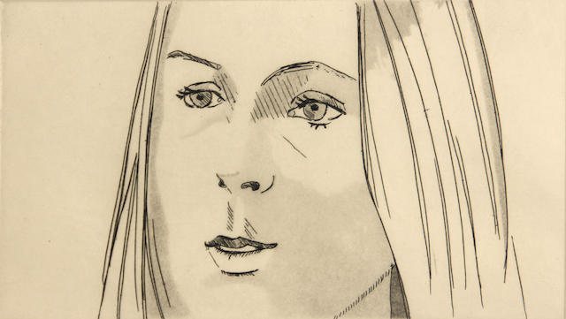 Alex Katz (American, born 1927); Harmony, from June Ekman's Class Portfolio;