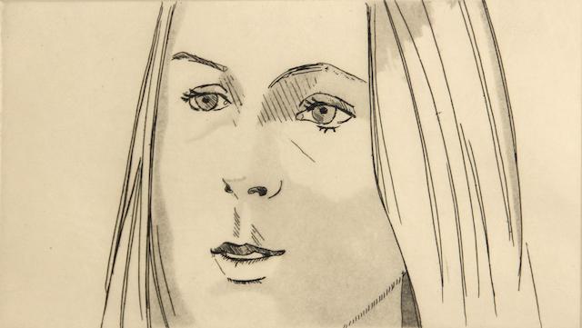Alex Katz (American, born 1927); Harmony;