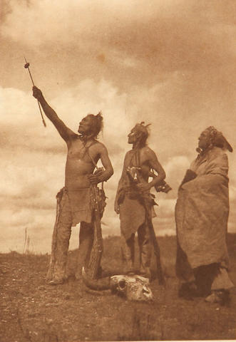 Edward S. Curtis (American, 1868-1952); The Oath-Apsaroke;