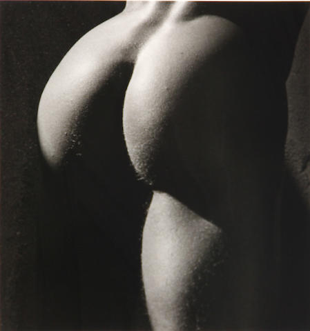 Herb Ritts (American, 1952-2002); Male Nude - Detail;