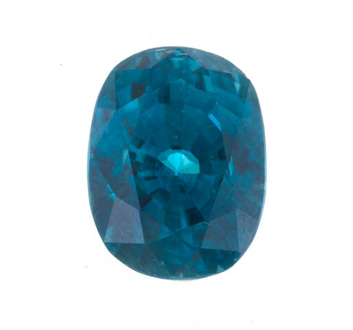 An unmounted zircon