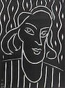 Henri Matisse, Teeny (D. 723), 1938, Linocut, ed. 1500, Sight 12 x 9 inches;