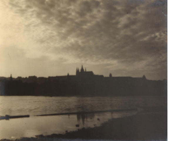 Josef Sudek (Czech, 1896-1976); Panorama of Prague;