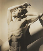 George Platt Lynes, Portraits of Eugene Loving (2), framed photos;