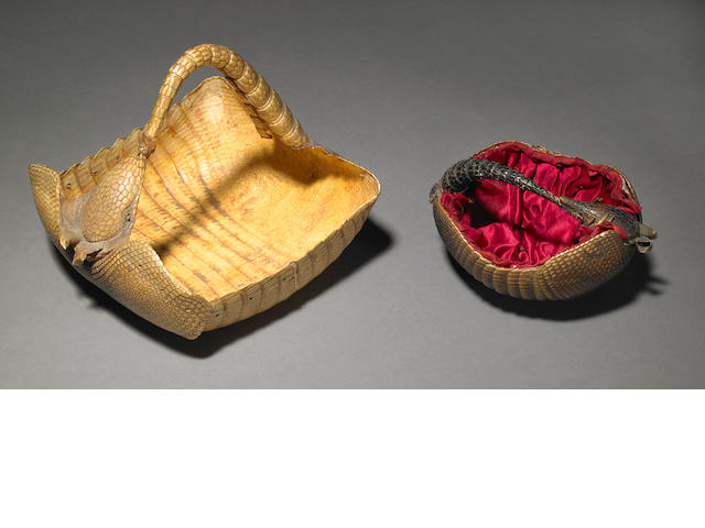 Victorian armadillo baskets (2)