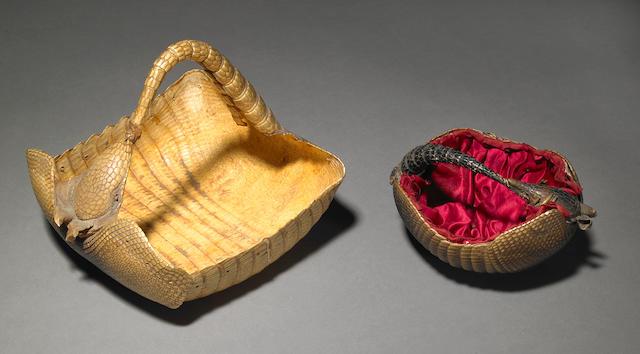 Victorian armadillo baskets (2)
