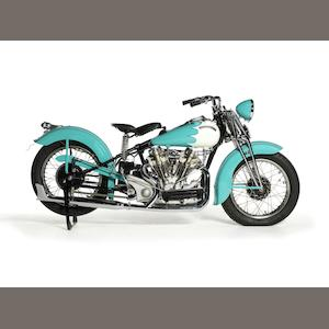 1940 Crocker 61ci 'Hemi-Head' V-Twin Engine no. 40.61.109