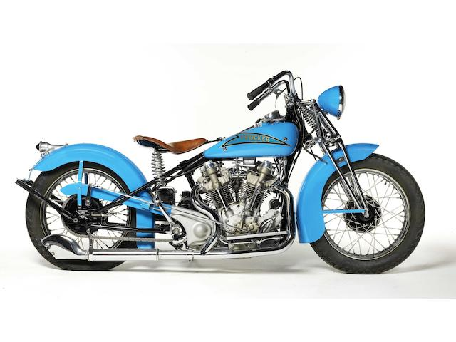 1937 Crocker V-Twin Engine no. 37-61-24
