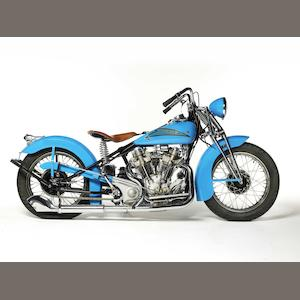 1937 Crocker 61ci 'Hemi-Head' V-Twin Engine no. 37-61-24