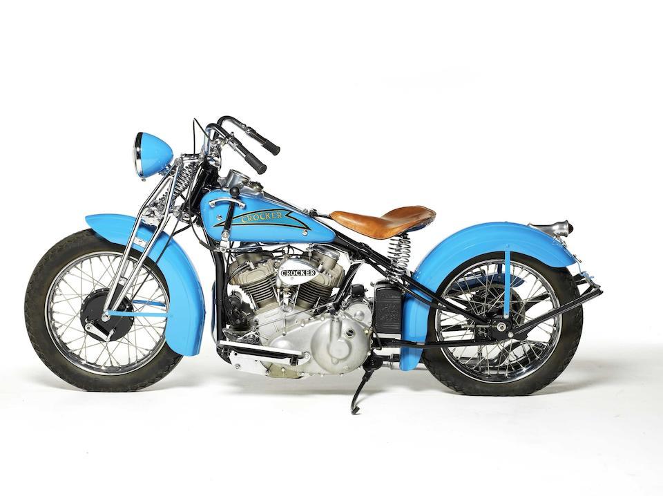 1937 Crocker V-Twin Engine no. 37-61-24