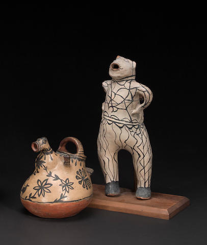 Two Cochiti effigies