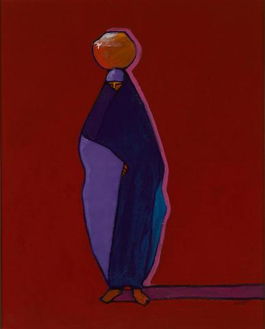 A John Nieto painting