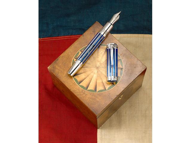MONTBLANC: White House Limited Edition 43 Skeleton Fountain Pen