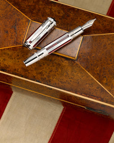 MONTBLANC: 4th of July Skeleton Limited Edition 56 Fountain Pen