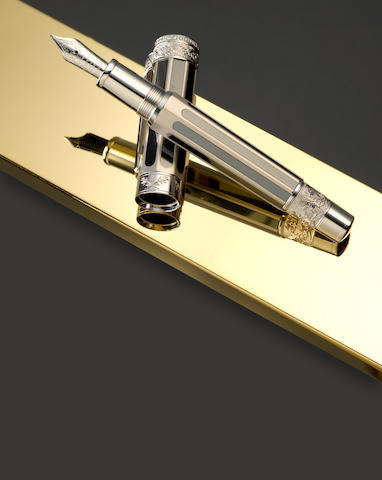MONTBLANC: John Adams America's Signatures for Freedom Series Limited Edition 50 Fountain Pen