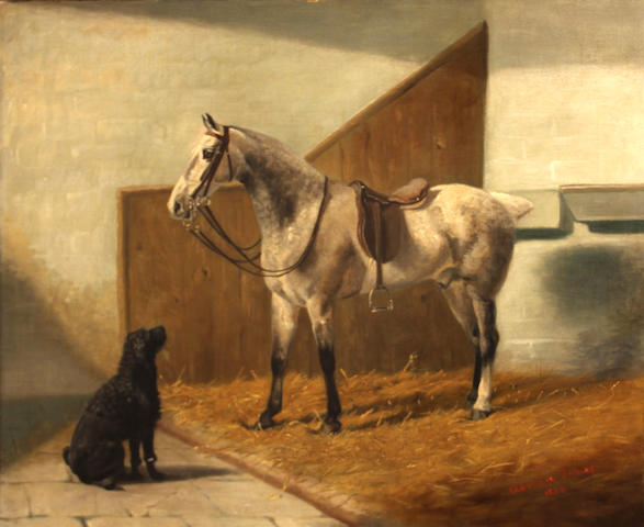 Adrian Jones, Horse, painting
