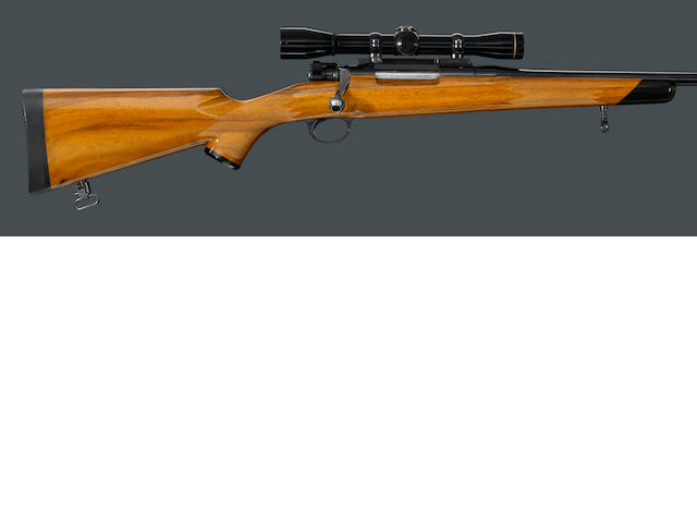 A custom .208 Remington FN Mauser action sporting rifle