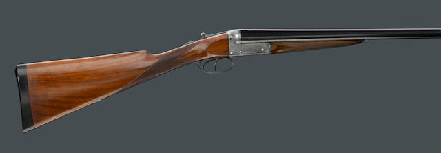 A 12 gauge English boxlock ejector shotgun by William Evans