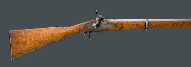 A scarce British Pattern 1858 Native Mounted Police percussion carbine