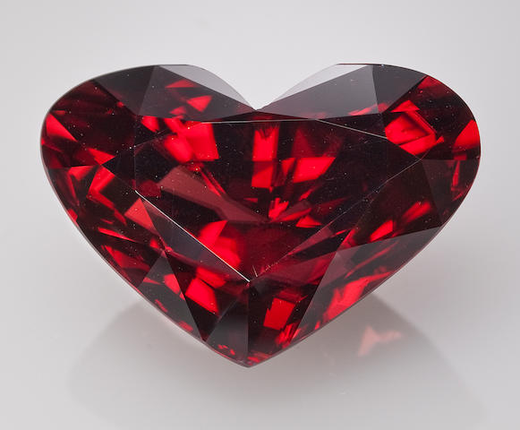 Stunning Red Zircon