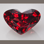 Stunning Red Zircon