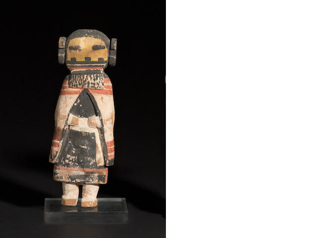 A Hototo kachina doll