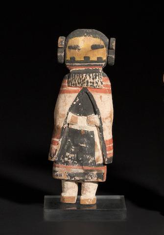 A Pueblo kachina doll